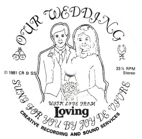 Cover art for Our Wedding by Crass