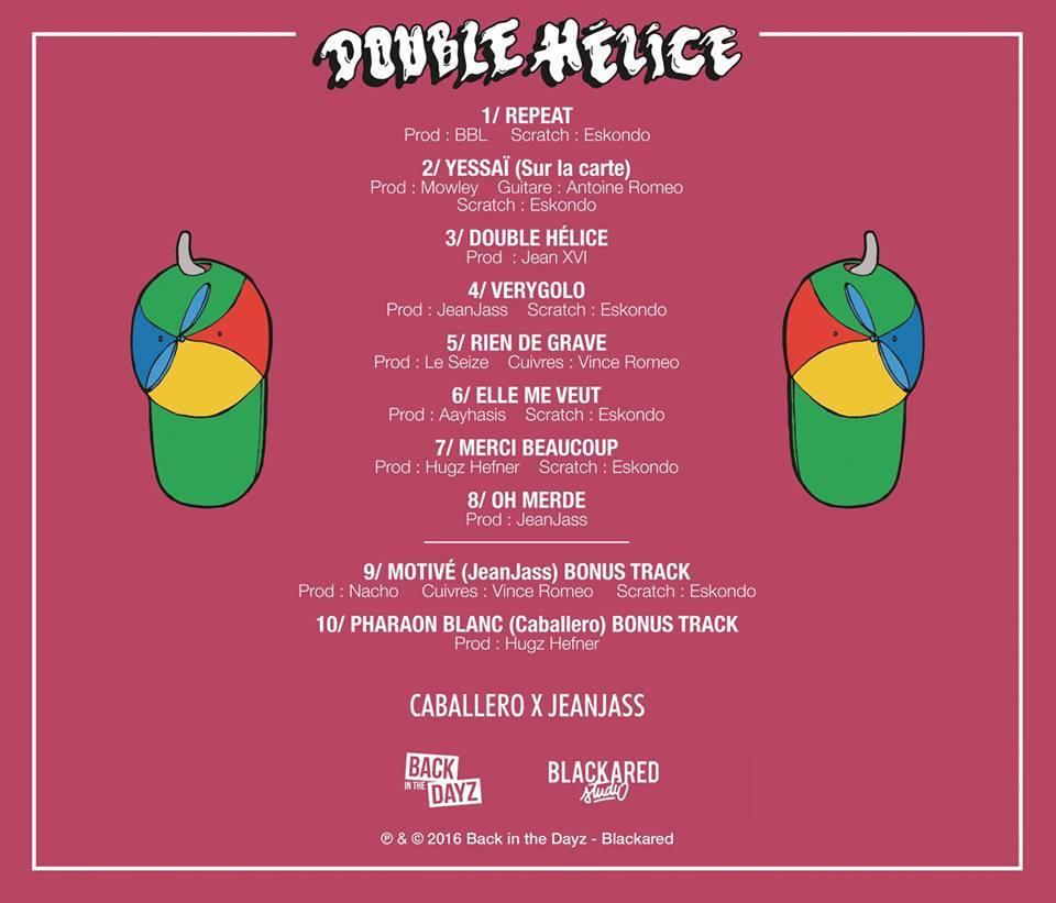 caballero jeanjass double helice 3