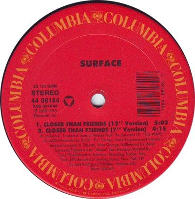 Surface - Closer Than Friends Lyrics - YouTube