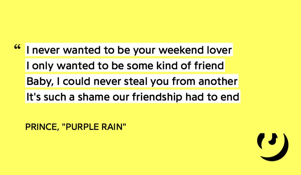 Lyric i ll be missing you lyrics : 10 Iconic Prince Lyrics We'll Never Forget   Genius