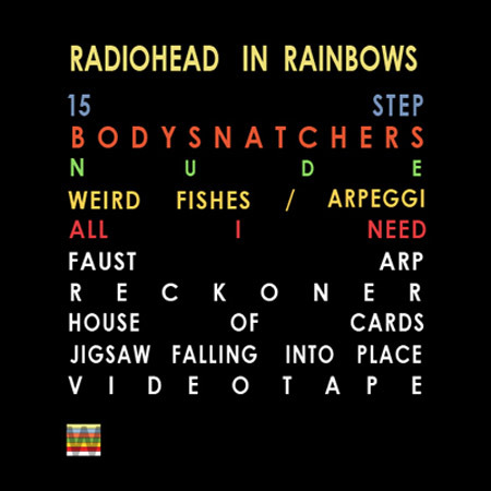 Radiohead – In Rainbows [Tracklist + Album Cover] | Genius