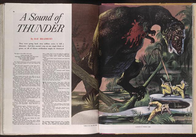 Ray Bradbury A Sound Of Thunder Genius