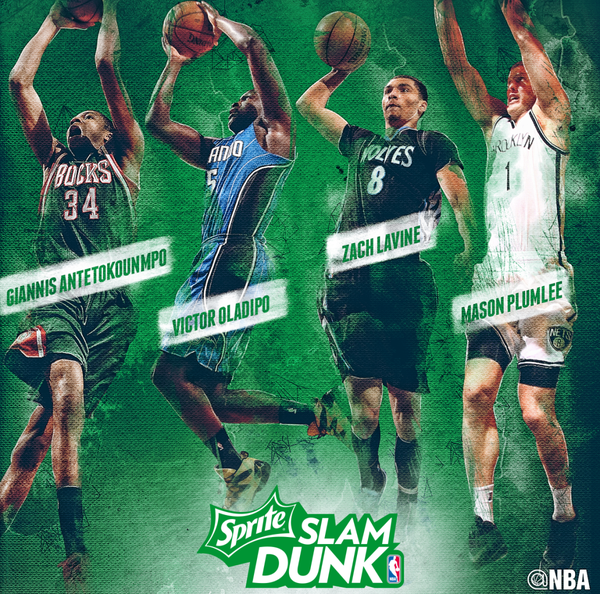NBA – 2015 Sprite Slam Dunk Contest Participants
