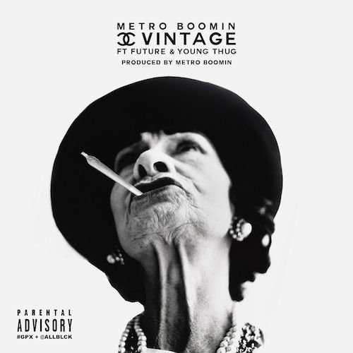 Cover art for Chanel Vintage by Metro Boomin