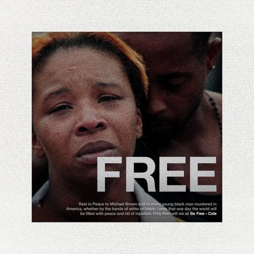 Cover art for Be Free by J. Cole