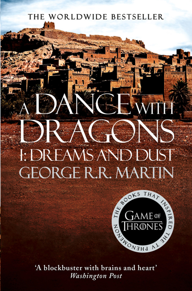 George R. R. Martin – A Dance With Dragons: Part 1 Dreams ... A Dance With Dragons Audiobook Cover