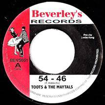 Toots And The Maytals - 54-46 That's My Number Lyrics ...