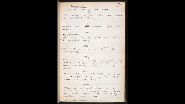 dorian gray epigram journals What is the purpose of the opening epigrams of oscar wilde's introduction to the portrait of dorian gray the epigrams of dorian gray's preface.