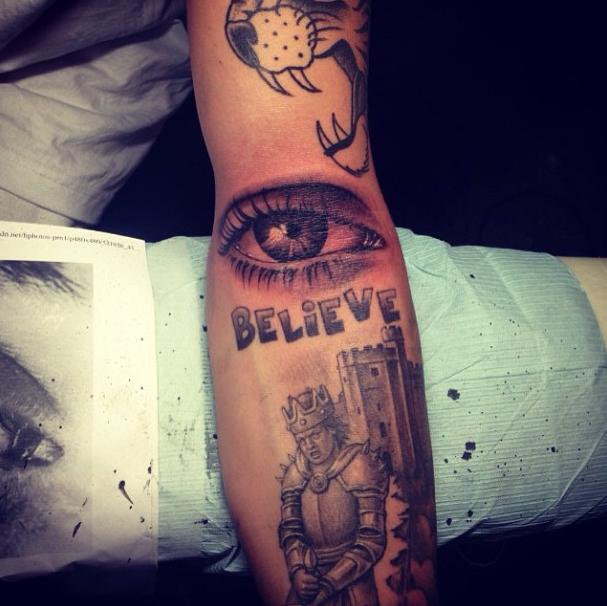 Justin Bieber S Illuminati Tattoo Genius