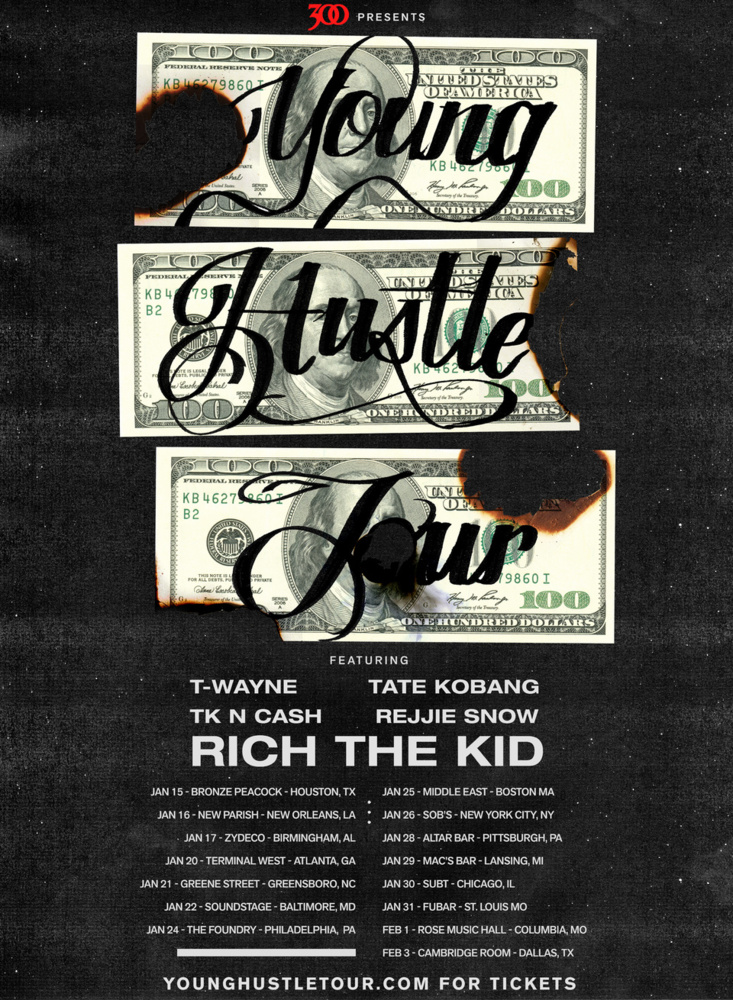 Young Hustle Tour Im Grindin Produced By Cassius Jay