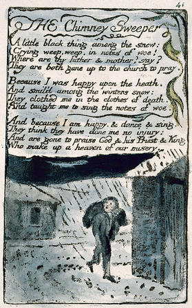 "essays william blake the chimney sweeper Blake and espada poetry comparison  saved essays save your essays  in the poem ""chimney sweeper"" the author, william blake,."