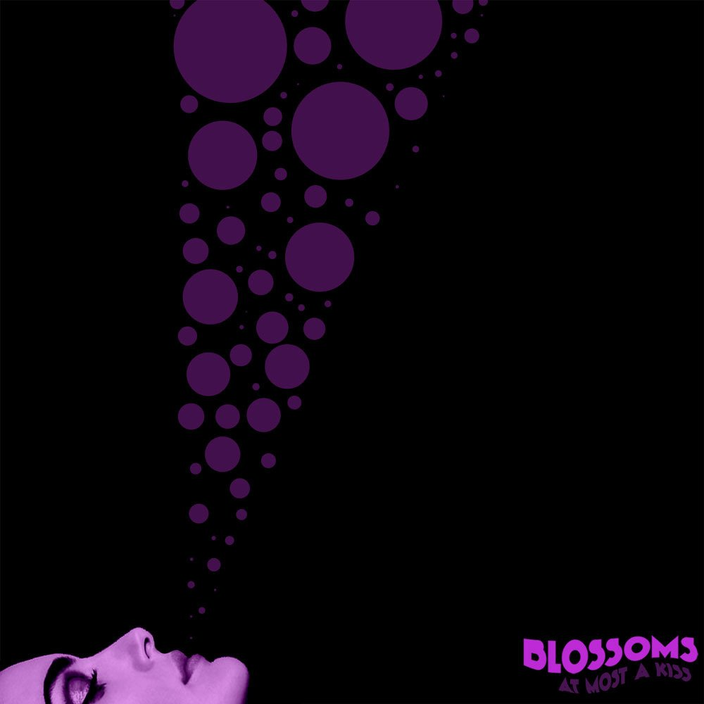 Cover art for At Most a Kiss by Blossoms