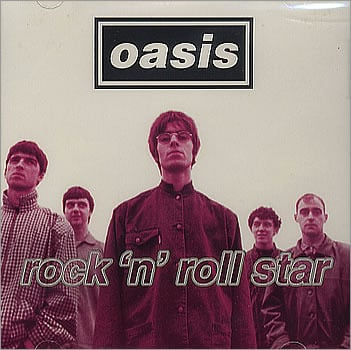 Cover art for Rock 'n' Roll Star by Oasis