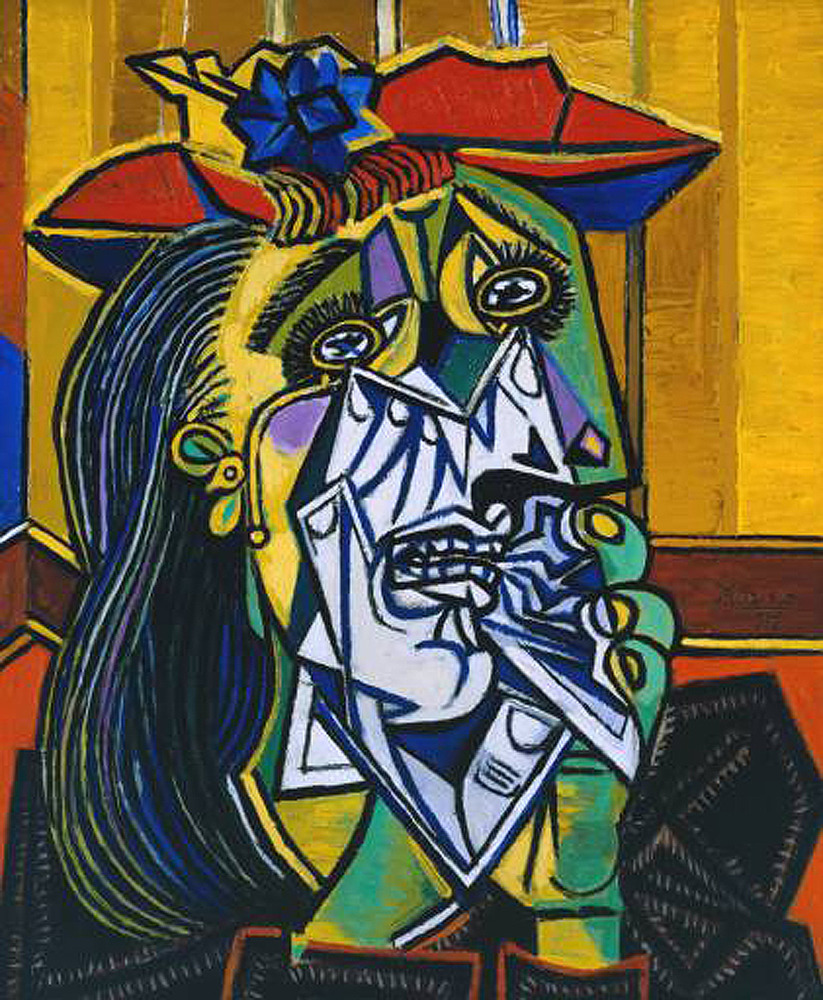 you the weeping woman of picasso 39 s truly god 39 s artwork. Black Bedroom Furniture Sets. Home Design Ideas