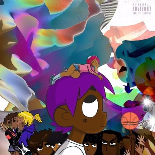 lil uzi vert vs the world has the best cover art i ve seen in a