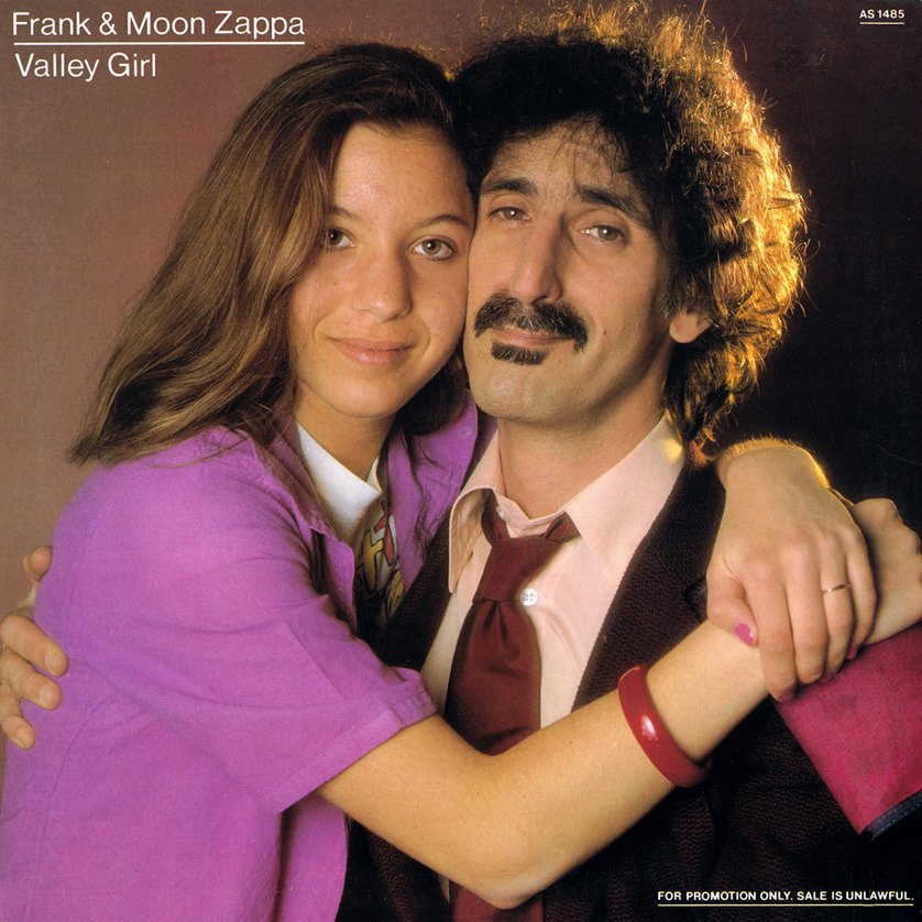 Cover art for Valley Girl by Frank Zappa