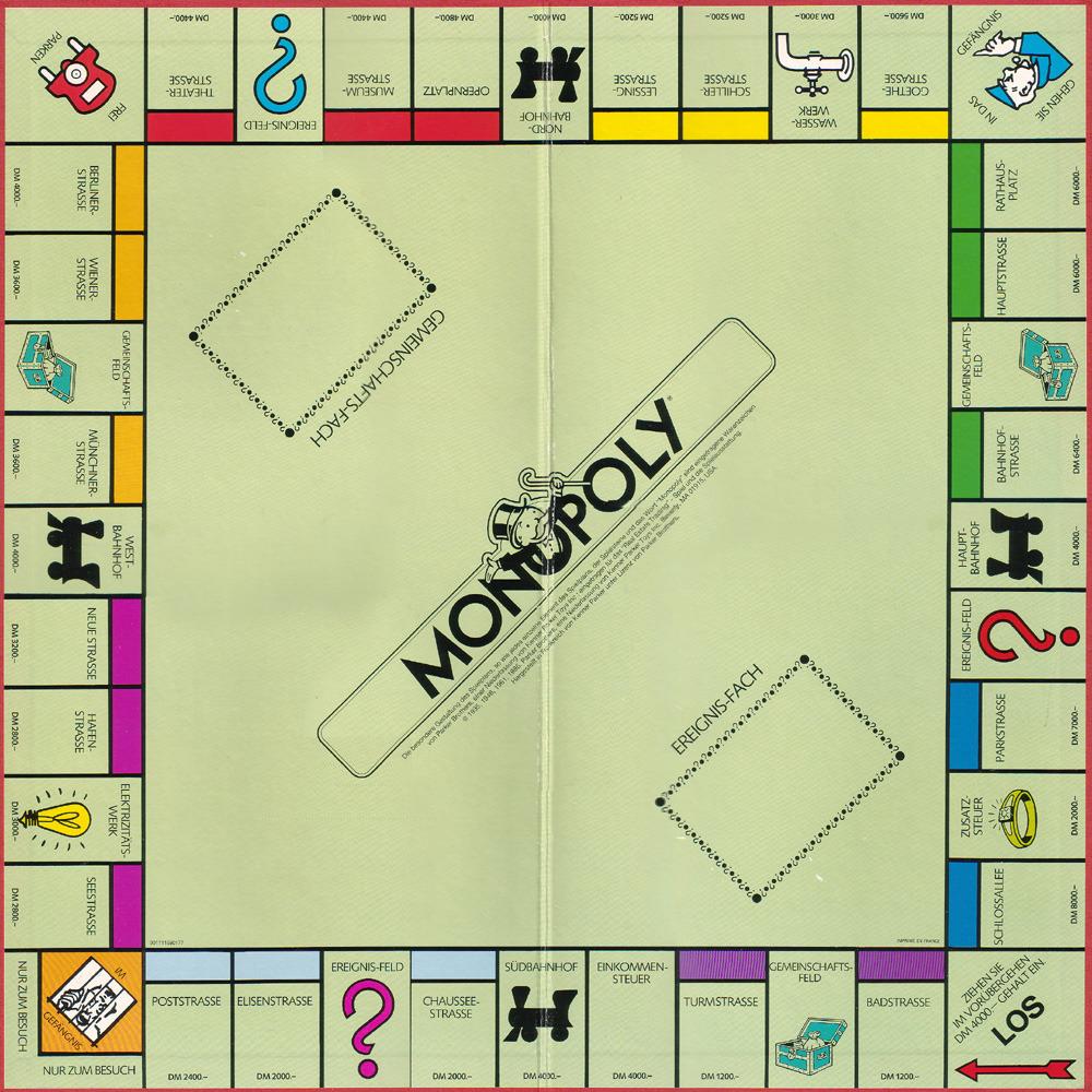 Monopoly Karte