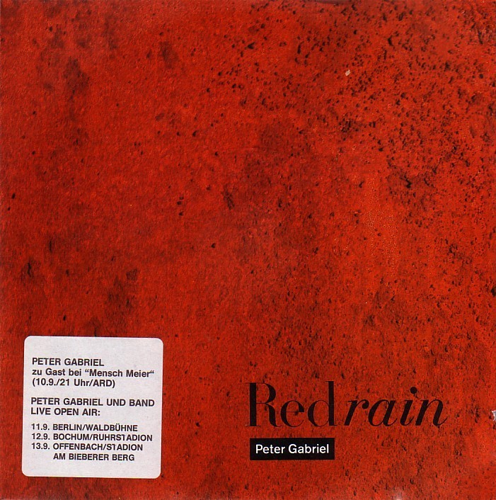 Lyric peter gabriel so lyrics : Peter Gabriel – Red Rain Lyrics | Genius Lyrics