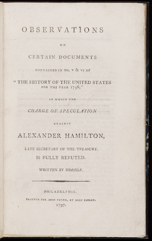 an introduction to the life and history of alexander hamilton Using the musical hamilton as a starting point and a foil, this course examines alexander hamilton's life, work, and impact in the context of his rapidly changing world.