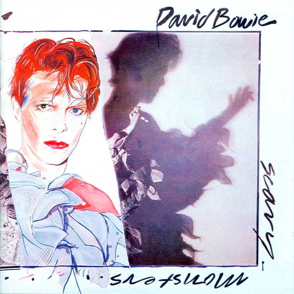 The cover of Bowie's album Scary Monsters (and Super Creeps)