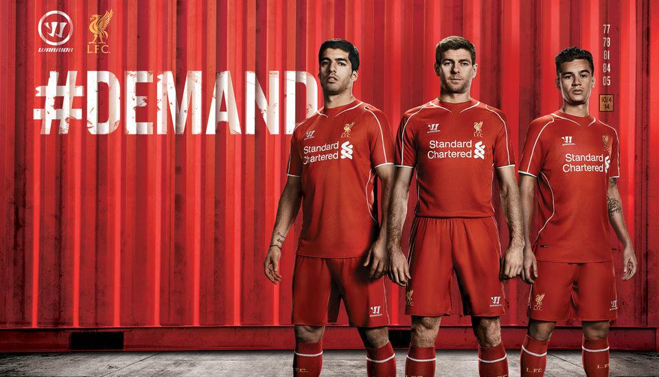 Liverpool FC – Liverpool 2014/15 Kit | Genius