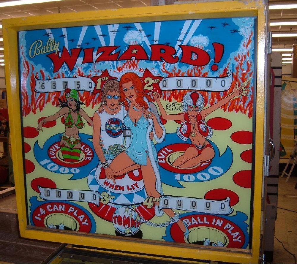 pinball wizard pinball machine