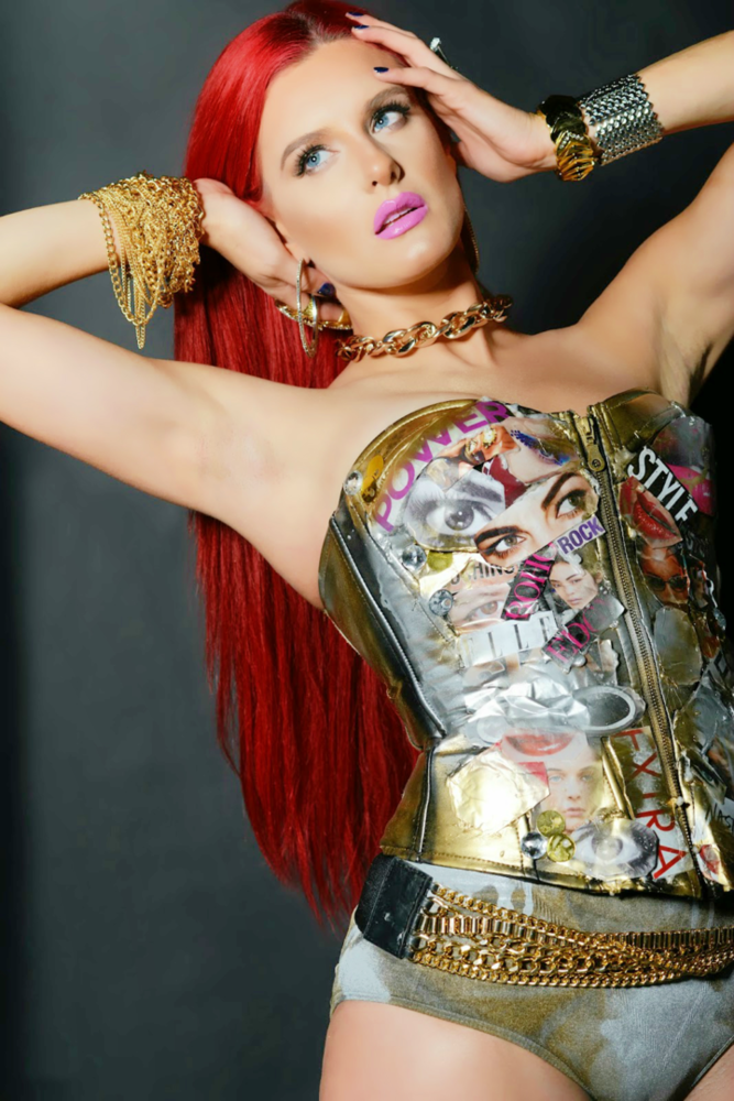 New Jersey Born Red Haired Songstress Justina Valentine Brings Countless  Talents To The Table. Being A Raspy Voiced Singer, Super Skillful Rapper,  ...
