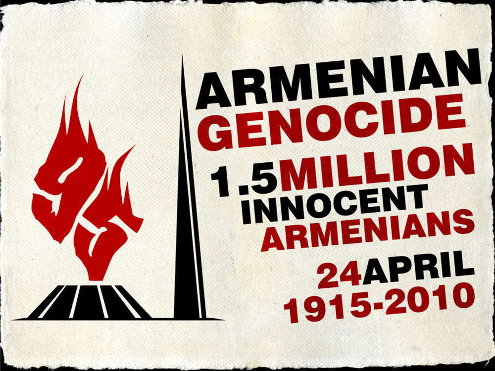 never forget the genocides The pope called the killing of 15million armenians in 1915 a 'genocide' that must never be forgotten after presenting a wreath at the country's memorial in yerevan today.